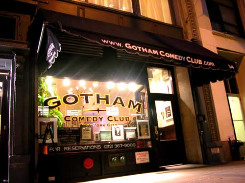 Gotham comedy club nyc coupon