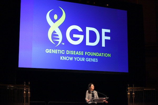 Elisa Ross Speaking at the 2013 GDF Gala